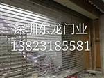 南山商场电动水晶卷帘门