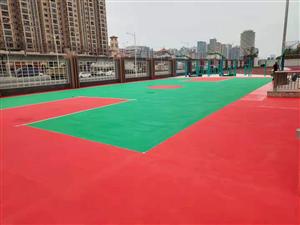 學校籃球場地坪漆案例