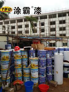 江门涂霸外墙真石漆工程案例