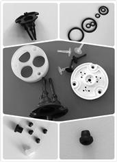电磁阀,水泵用膜片,蘑菇头,O型圈