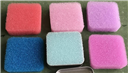 过滤海绵,彩色过滤棉,彩色过滤网,清洁海绵