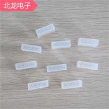 LED硅膠四方管15mm無孔/有孔LED軟燈條堵頭15mm四孔LED硅膠管塞子