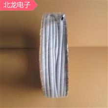 矽胶绝缘管灰色尺寸6*7mm三极管绝缘套管8*9mm灰色电源用硅胶管