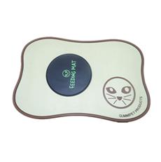 环保PVC软胶宠物垫 滴胶LOGO宠物床 1米超大型宠物垫 可开模定制