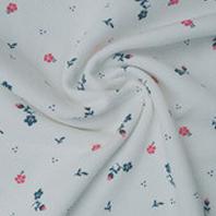 精棉平纹印花布