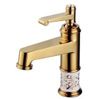 11050G全銅主體單孔單把單冷洗臉盆臺盆龍頭面盆洗手盆水