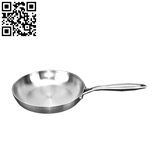 304不銹鋼三層鋼煎鍋、煎盤(Stainless steel frying pan)ZD-SCG06