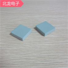 碳化硅陶瓷25*25*5mm路由器散热片厚度3mm/5mm/10MM微孔陶瓷散热片