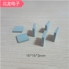 碳化硅陶瓷片15*15*3/*5mm可背胶 LED用散热片15*15*2/*3MM背胶