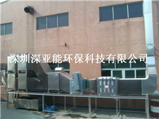 Industrial smoke and dust tail gas processor