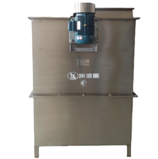Water based paint mist purifying and recovering machine