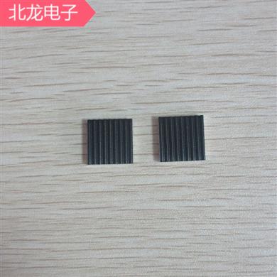 纳米碳铝箔散热片机顶盒散热片芯片降温神器13*13/20*20/25*2530*30/40*40mm多种规格可背胶