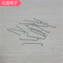 鍍錫銅跳線厚度0.5/0.6/0.8/1.0*2-40mm多種規格跨距環??缇€焊接跳線PCB板連接線