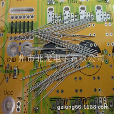 北龙电子生产镀锡铁线0.6*20MM直线跳线 一字型跳线,一包一万