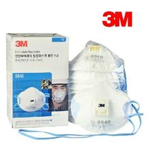 3M 8840 KN95/P2带呼气阀 防颗粒物口罩