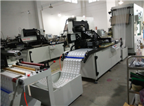 Automatic screen printing press for clothing transfer