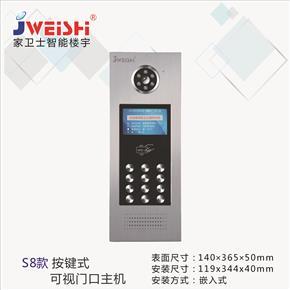 S8款單元門口機