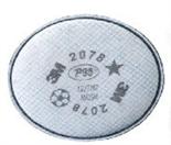 3M 2078 P95 /酸性及有机气体异味过滤棉 100个/件
