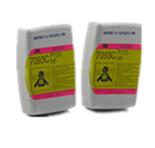 3M 7093CB 有机及酸性气体异味颗粒物滤毒盒 144个/件