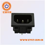 工场直销电源插座卡式流动插座31*24MM环保S-03-12