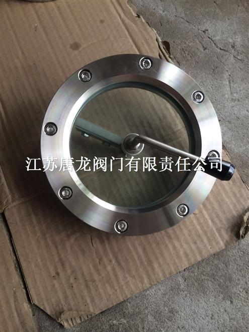 BNSGLP-16P/R不锈钢带法兰刮刀视镜