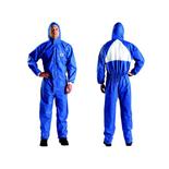 3M 4530 蓝色戴帽连体防护服 20套/件