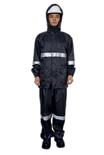 3M R2911 藏青色警示服/雨衣 PVC防水安全