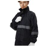 3M摩托车电动车反光雨衣雨裤防护服套装户外双层加厚骑行车荧光黄