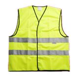 正品M号 3M反光安全背心反光衣 交通马甲 骑行马甲 荧光马甲V10S0