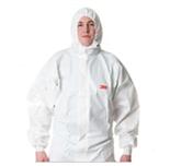 3M 4535 透气舒适型防护服/喷漆服/防尘服/防化学品/消毒服