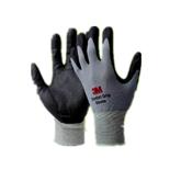 3M手套舒适型防滑耐磨劳保**掌浸胶骑车工作防护电工手套