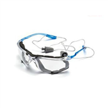 3M 防护眼镜11872 有线耳塞控制系统 防雾镜片 20副/件