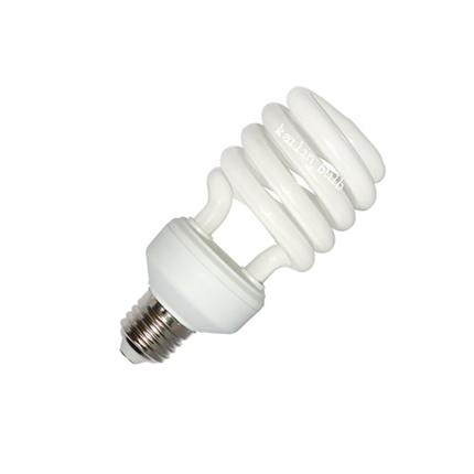 CUL 120V 23W energy saving bulb half spiral FCC DOE CEC ENERGY STAR 2700K