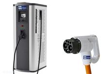 90KW立式电动汽车充电站直流充电桩/充电柜