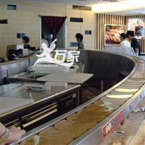 大型旋转寿司设备不锈钢链条