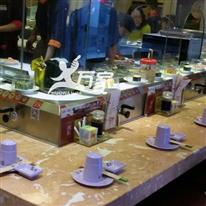口型旋转寿司带开水系统
