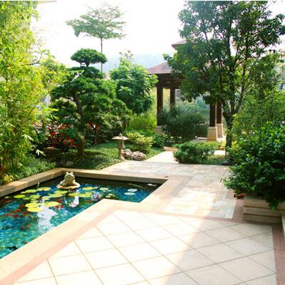 别墅园林绿化设计