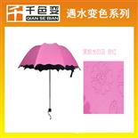 浮水印遇水變色油墨遇水開花涂料雨傘布料用水顯油墨