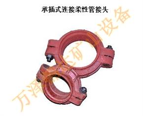 矿用钢环式高压卡箍|卡箍卡兰快速接头