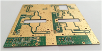 High frequency mixing plate PCB
