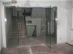 西安东升玻璃门地弹门定做维修