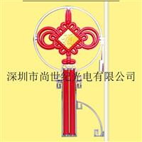 3号明月型带福字中国结