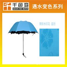 遇水变透明油墨雨伞布用热敏变色丝印涂料湿敏变色材料