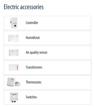 Electric accessories