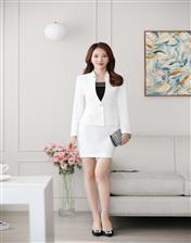 职业装女装时尚套装酒店工作服女士气质正装修身西装套裙