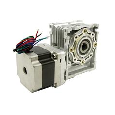 86mm worm geared stepper motor
