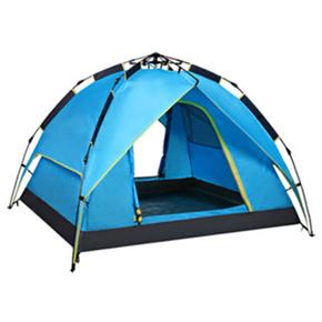 自动全双层防雨帐篷