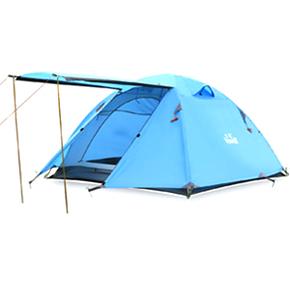 3-4人铝杆露营野营帐篷