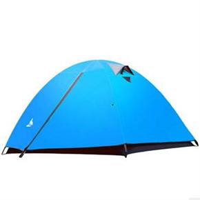 双层野外露营防暴雨帐篷
