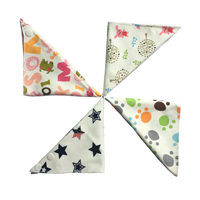 Aiviai Baby Bandana Drool Bibs Baby Bibs Bandana for Drooling and Teething ,Soft and Absorbent, Hypo